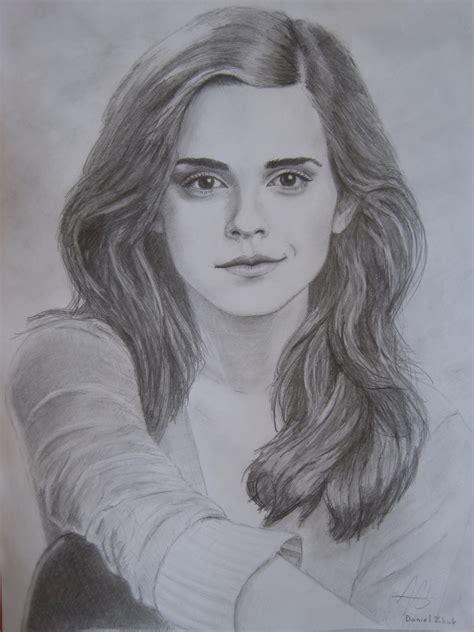 Emma Watson Drawing   drawing emma watson fan art 17644496 fanpop