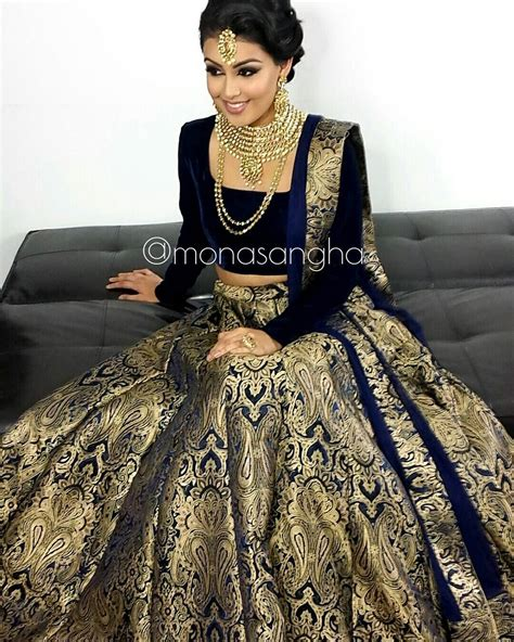 hairstyles with indian outfits clearly this lengha is a hit hair makeup monasangha