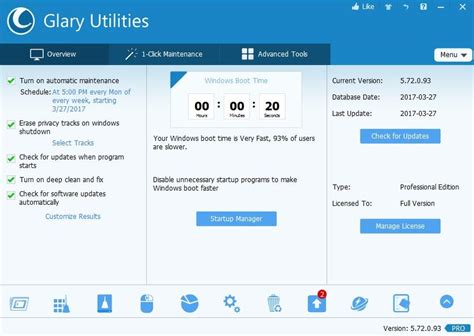 Glary Utilities Pro License Original glary utilities pro review rating pcmag