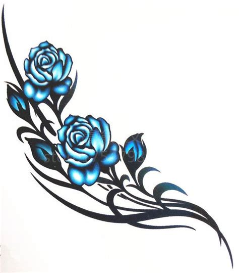 pictures of rose vine tattoos blue vine search ink