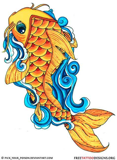 koi fish drawing color 40 koi fish tattoos japanese and designs