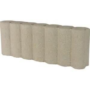 home depot edging oldcastle 1 1 3 ft matt log concrete edging 14200455