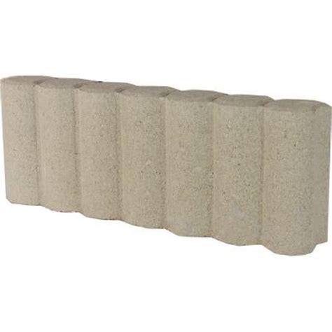Home Depot Edging by Oldcastle 1 1 3 Ft Matt Log Concrete Edging 14200455