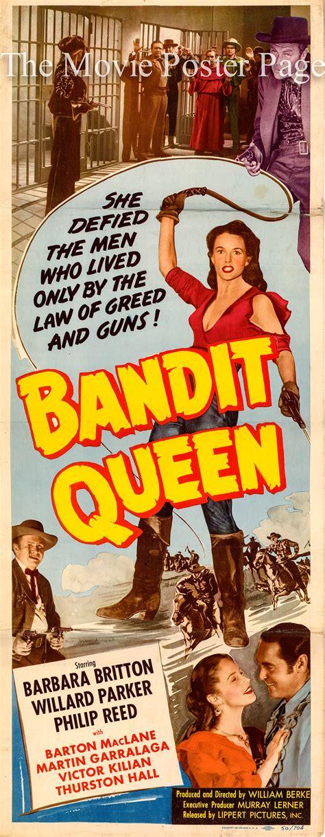 film band it queen bandit queen 1950 barbara britton us insert f ex 75