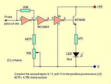 christmas lights tester measuring and test circuit