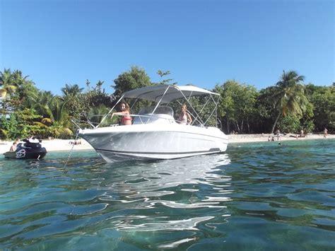 samboat ou click and boat location bateau moteur en guadeloupe