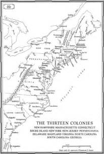 13 colonies map colouring pages page 2