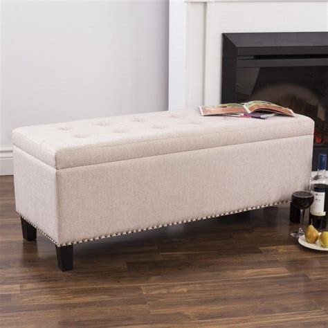 Upholstered Bench Seat With Storage 25 Best Ideas About Upholstered Storage Bench On