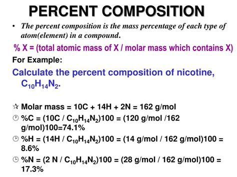 What Is Composition by Ppt Percent Composition Powerpoint Presentation Id 671162