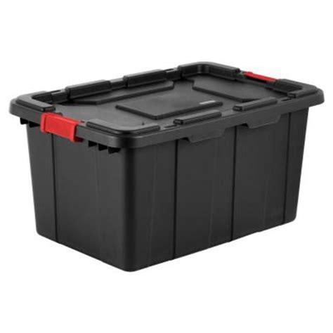 sterilite 27 gal industrial storage tote 4 pack