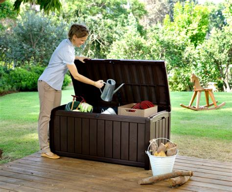 backyard storage solutions outdoor storage solutions blogging mamas