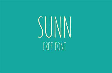 design english font free download sunn free handwriting font on behance