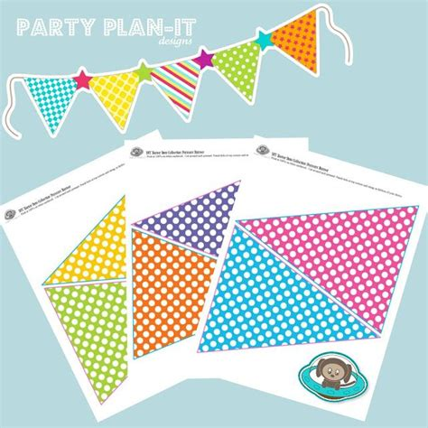 printable birthday pennant banner free printable pennant banner printable and freebies