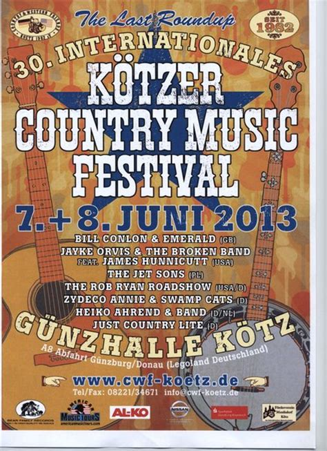 country music concerts new england 2013 internationales k 246 tzer country music festival mit 7 bands