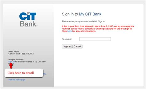 cit bank login cit bank banking login cc bank
