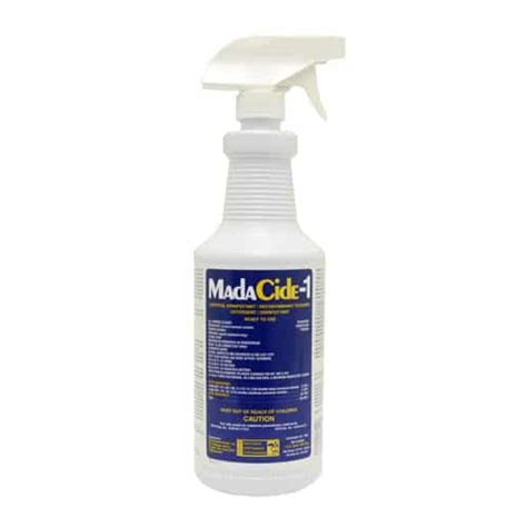 tattoo machine disinfectant madacide 1 surface disinfectant sterilization 32oz