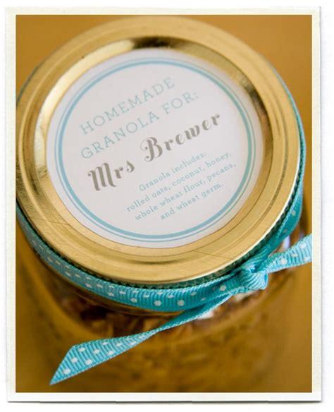 printable granola labels homemade granola with free printable teacher appreciation