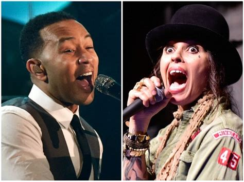 linda perry vote watch john legend and linda perry debut get up and vote