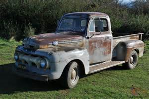 1952 Ford For Sale 1952 Ford F 1 Original Unrestored Condition No Rot