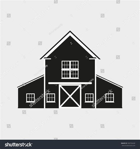 house line drawing images stock photos vectors shutterstock barn icon vector illustration farm house stock vector