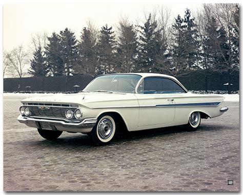 poster impala chevrolet impala 1961 sport coupe poster chevymall