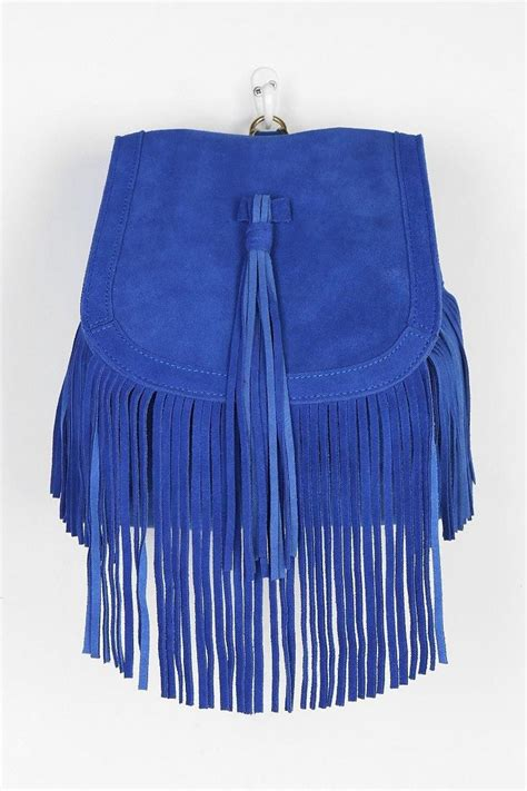 Angela Backpacks angela suede fringe backpack new arrivals