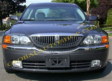 the grille lincoln lincoln ls chrome grill custom grille grill inserts