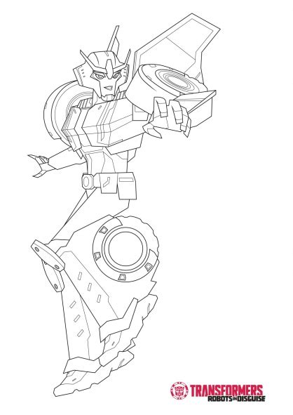 coloring pages transformers robots in disguise free coloring pages of strong arm