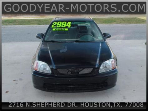 1997 Honda Civic Lx For Sale Under 3000 In Houston Tx