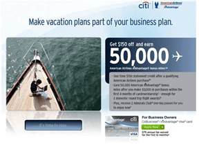 citi aadvantage business amazing deal 100 000 american with citi credit