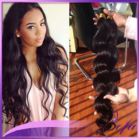 black 18 inch sew in 30 inch bundles weave best hair for black women top hair