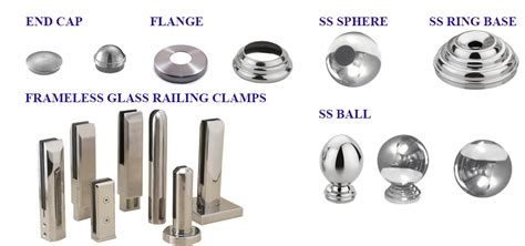 banister parts stainless steel stair railings