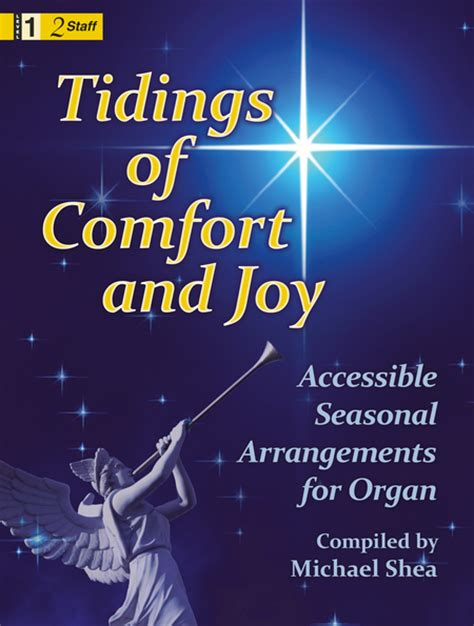 tidings of comfort and joy tidings of comfort and joy sheet music by michael shea