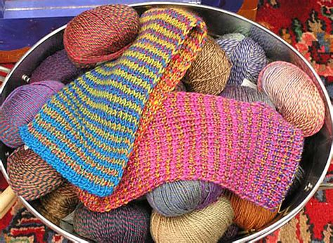 knitting stripes in the 25 scarf knitting patterns the best of ravelry beyond