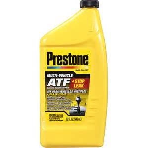 prestone automatic transmission fluid plus stop leak