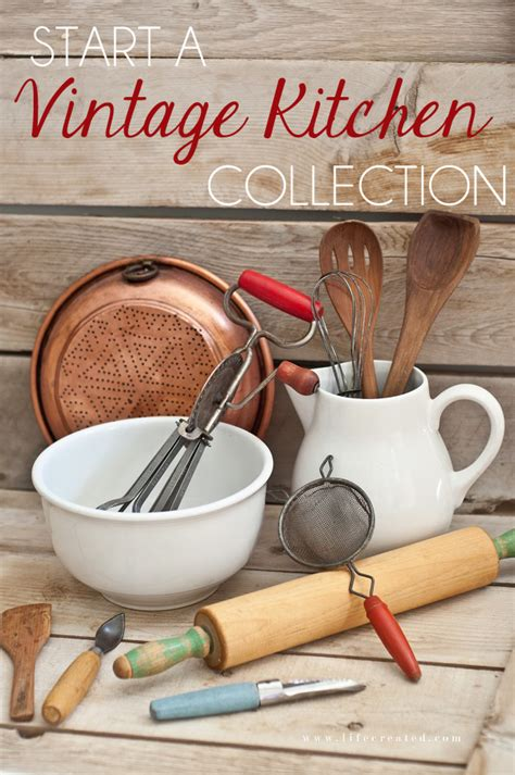 vintage kitchen utensils crafts