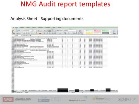 accessibility audit template seo audit workshop frameworks techniques and tools