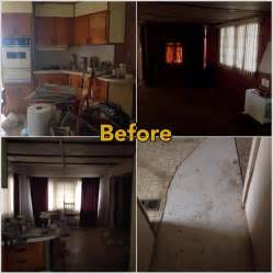house makeovers mobile home makeover before and after rehab pictures