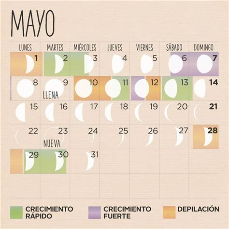 Calendario Lunar 2017 Chile Calendario Lunar De Mayo 2017