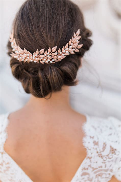 hair accessories for a wedding gold wedding hair accessories wedding ideas by colour chwv