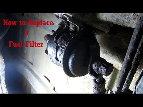 how to change your fuel filter in a ford   doovi