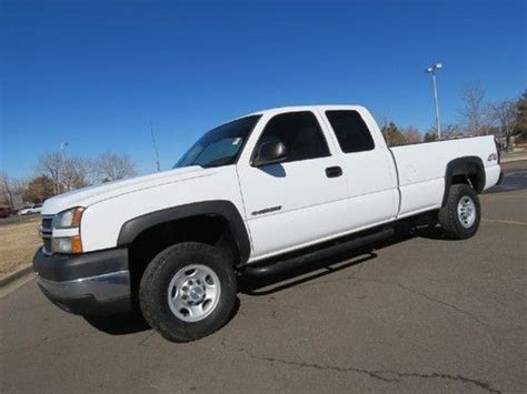 chevy colorado long bed sell used 2006 chevrolet silverado 2500 extended cab long