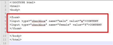 html design checkbox how to create a check box with html 3 steps with pictures