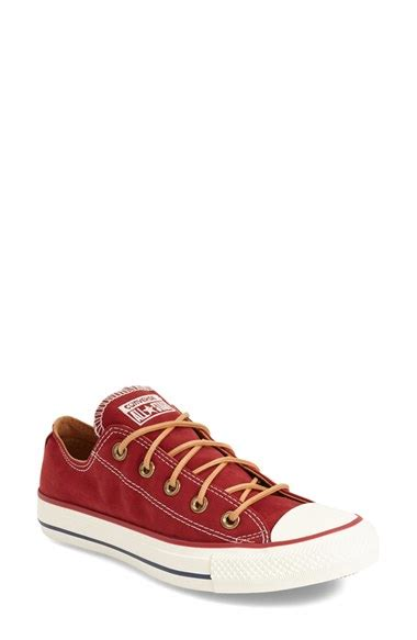 Converse Chuck All High Peached Brown Coklat Original converse chuck all peached ox low top sneaker in lyst