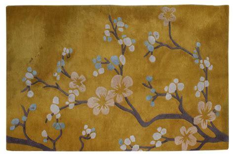 cherry blossom area rug modern global views cherry blossom area rug april estates auction auction gallery