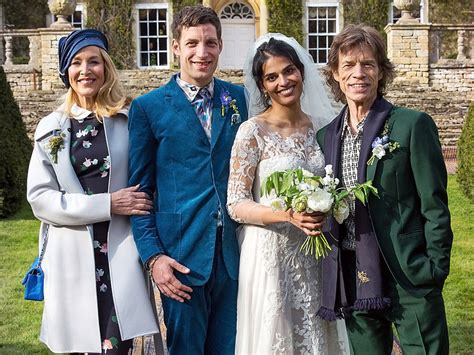 Thorne Smith Marries In Secret Ceremony by Mick Jagger And Jerry Attend Jagger S