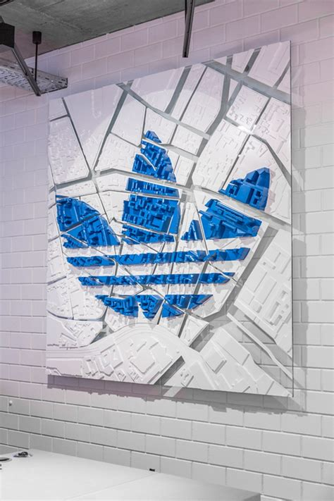 Berlin Wall Mural adidas originals flagship store berlin germany 187 retail