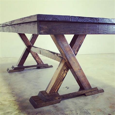 Trestle Kitchen Table Trestle Table Just Ordered My New Kitchen Table Really Similar To