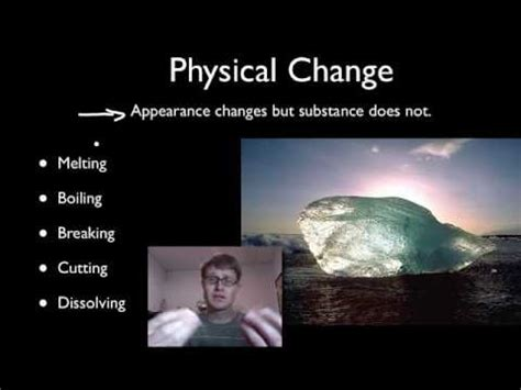 physical & chemical changes — bozemanscience