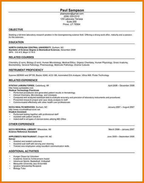 Practitioner Resume Objective Exles 5 New Grad Practitioner Resume Assistant Cover Letter